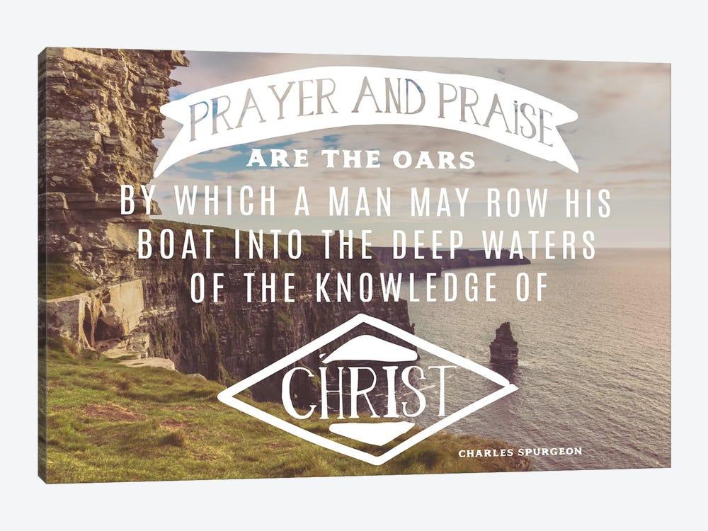 Prayer And Praise Oars by Stede Bonnett 1-piece Canvas Print