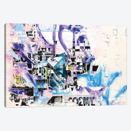 Ghetto Franchise Canvas Print #BNP14} by Benjamin Phillips Canvas Wall Art