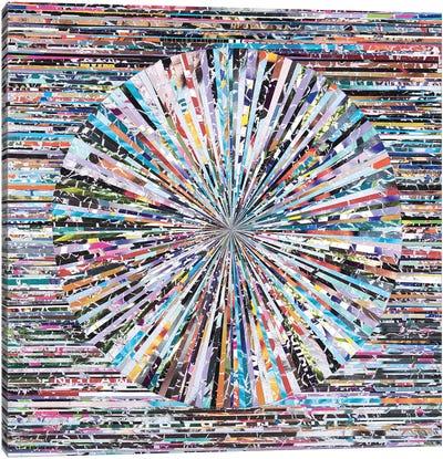 Hippie Crack Canvas Art Print