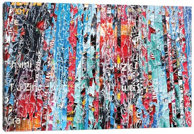 Riot Canvas Art Print