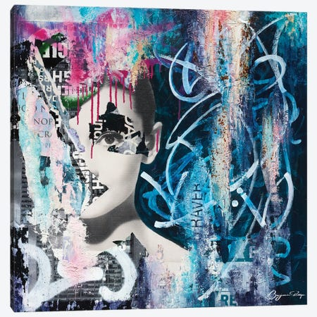 Sensitivity Of Time Canvas Print #BNP2} by Benjamin Phillips Canvas Print