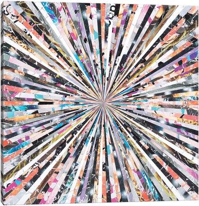 Blitz Canvas Art Print