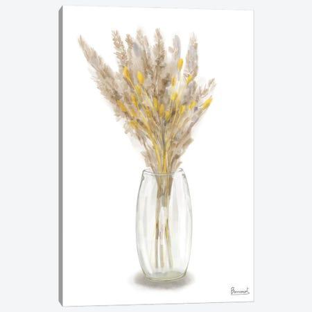 Dried Flower Yellow III Canvas Print #BNR102} by Bannarot Canvas Wall Art