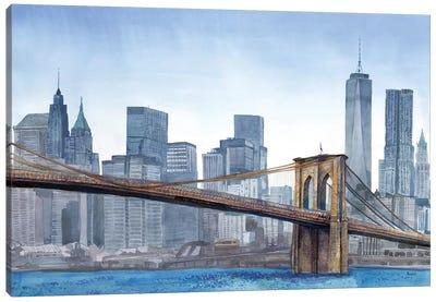 NY Skyline Canvas Art Print