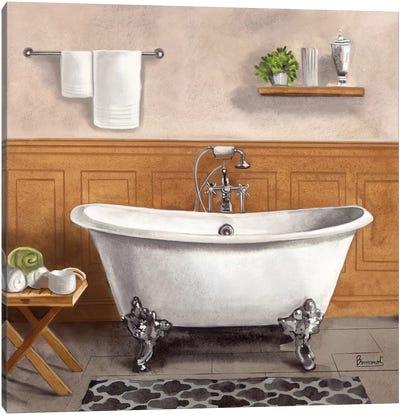 Serene Bath I Canvas Art Print