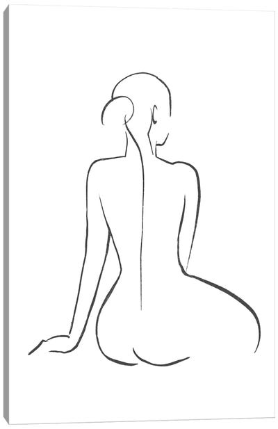 Line Art Figure II Canvas Art Print