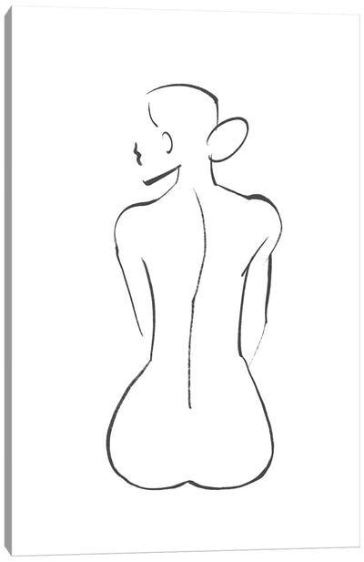 Line Art Figure III Canvas Art Print