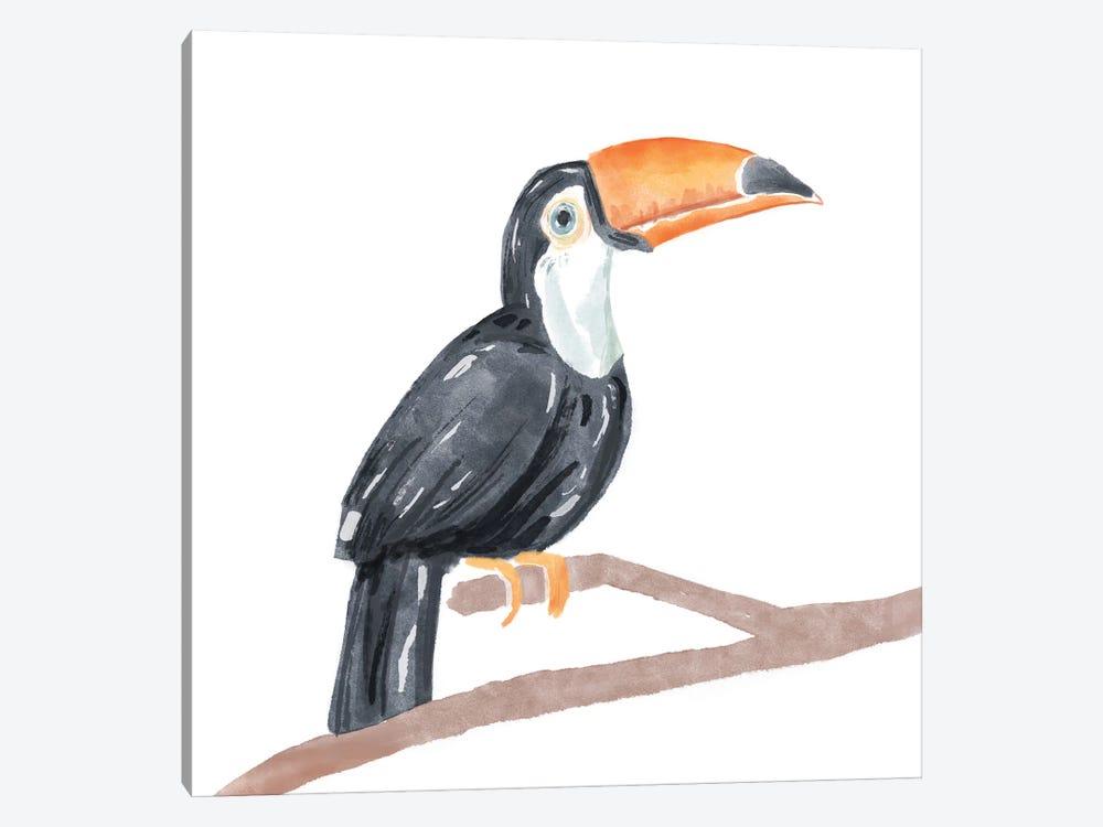 Tropical Toucan I by Bannarot 1-piece Canvas Print