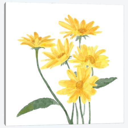 Wildflower Group I Canvas Print #BNR87} by Bannarot Canvas Print