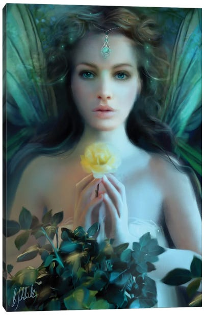 Emerald Canvas Print #BNT14