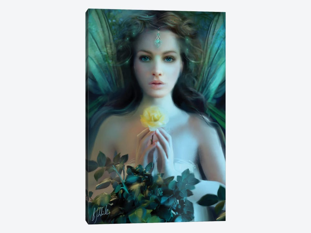 Emerald by Bente Schlick 1-piece Canvas Artwork