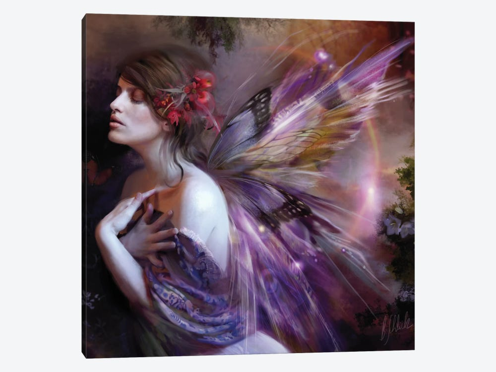 Equinox by Bente Schlick 1-piece Canvas Art Print