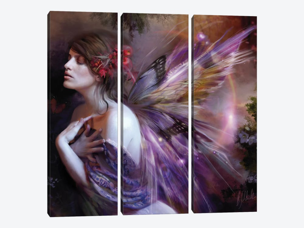 Equinox by Bente Schlick 3-piece Canvas Art Print