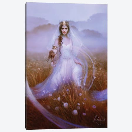Guinevere Canvas Print #BNT21} by Bente Schlick Canvas Artwork