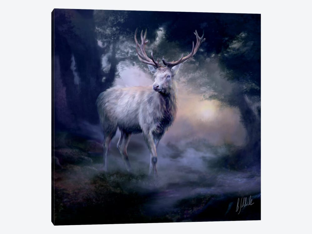 Heart Of The Forest by Bente Schlick 1-piece Art Print