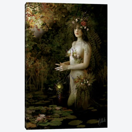 Hidden Canvas Print #BNT23} by Bente Schlick Canvas Art