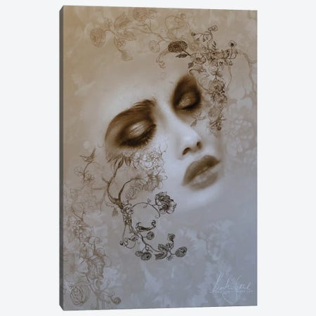 Ink Canvas Print #BNT25} by Bente Schlick Canvas Art Print