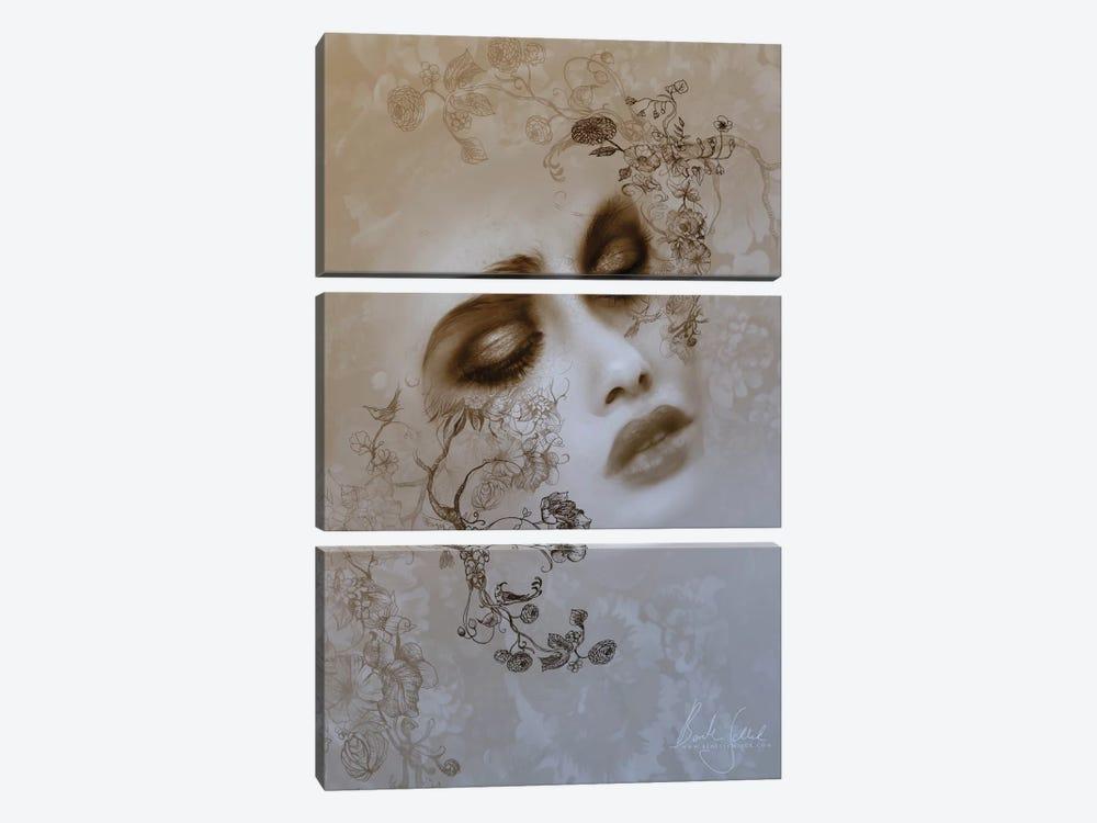 Ink by Bente Schlick 3-piece Canvas Art