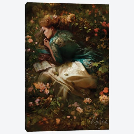 Into Dreamland Canvas Print #BNT26} by Bente Schlick Canvas Print