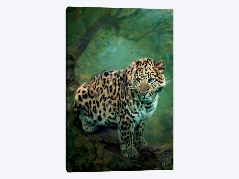 Leopard by Bente Schlick 1-piece Canvas Art Print