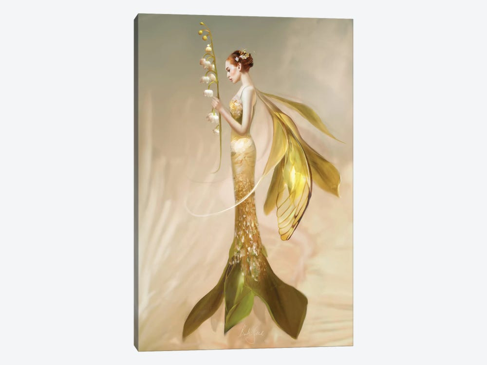 Lily Of The Valley by Bente Schlick 1-piece Canvas Artwork