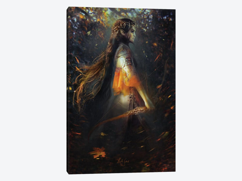 Phoenix Warrior 1-piece Canvas Wall Art