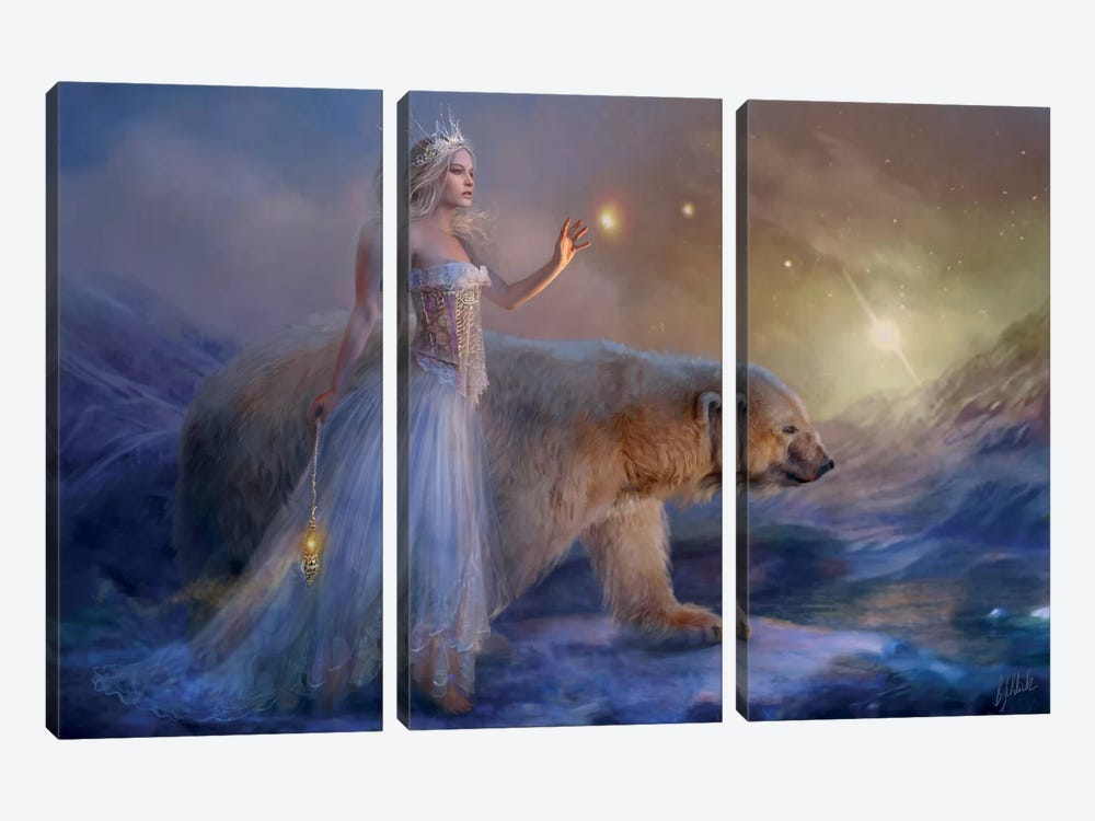 Aurora by Bente Schlick 3-piece Canvas Art Print