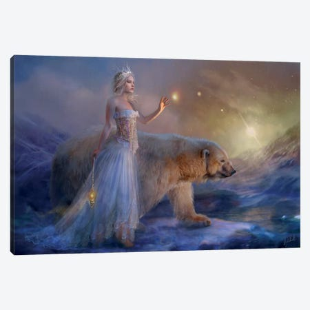 Aurora Canvas Print #BNT3} by Bente Schlick Canvas Art Print