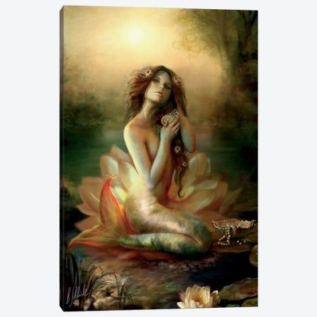 Scallop Pond Canvas Print #BNT40} by Bente Schlick Canvas Artwork