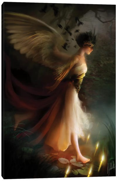 Sleepwalker Canvas Art Print