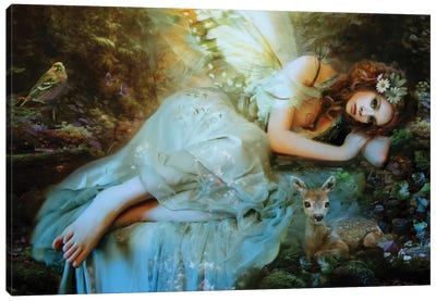 Spring Fairy Canvas Art Print