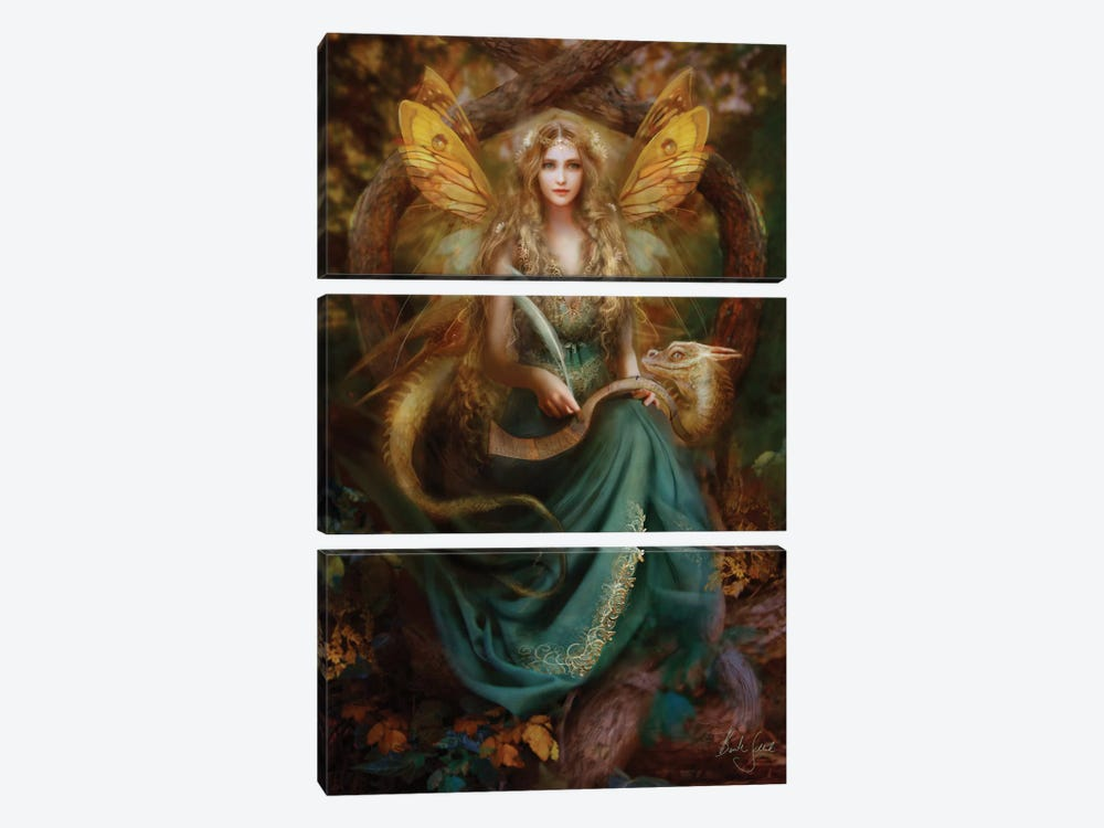 Storyteller by Bente Schlick 3-piece Canvas Artwork