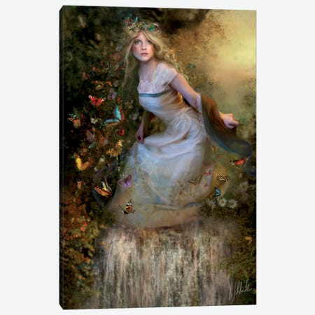 Summer Dancer Canvas Print #BNT46} by Bente Schlick Art Print