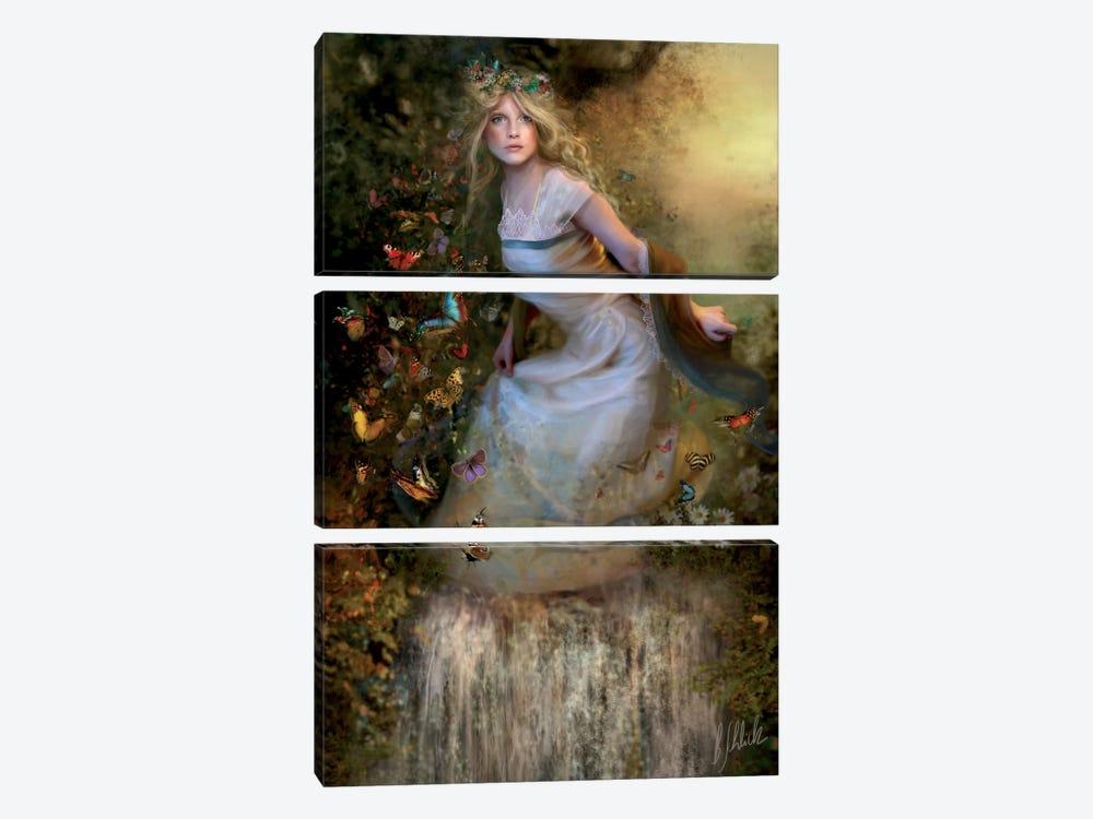 Summer Dancer by Bente Schlick 3-piece Canvas Art Print