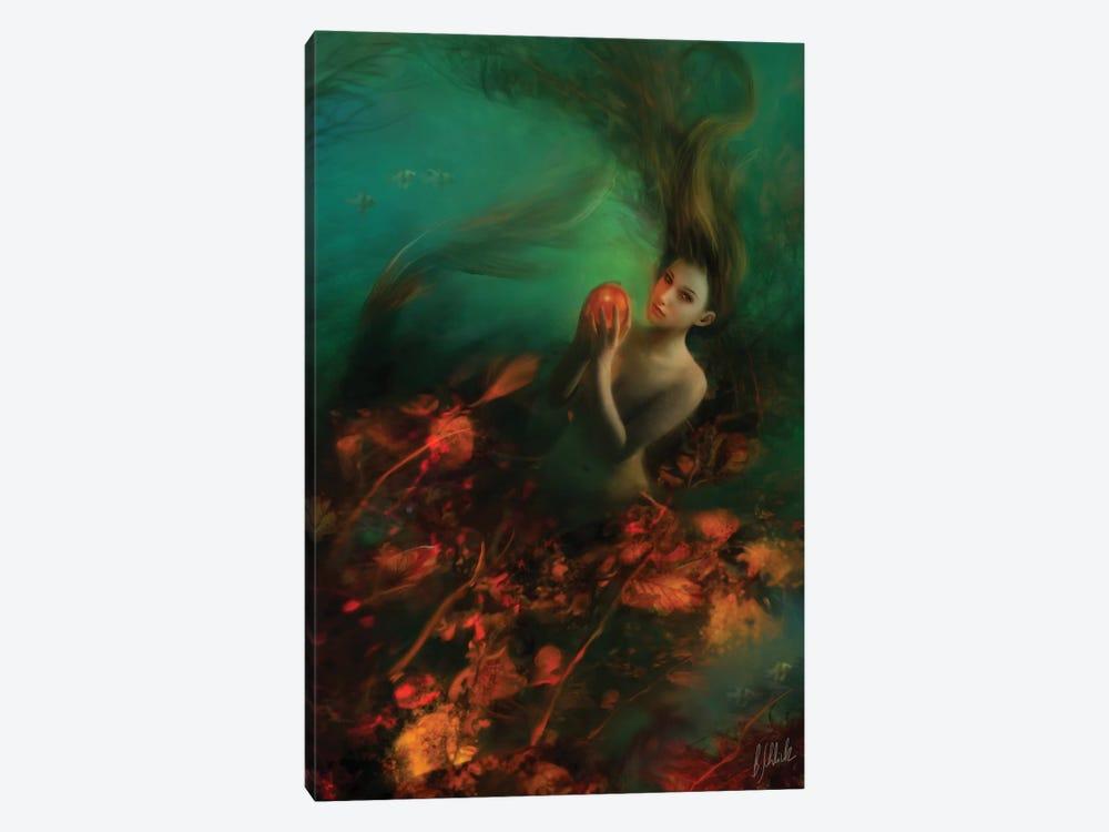 Tangerine by Bente Schlick 1-piece Canvas Art