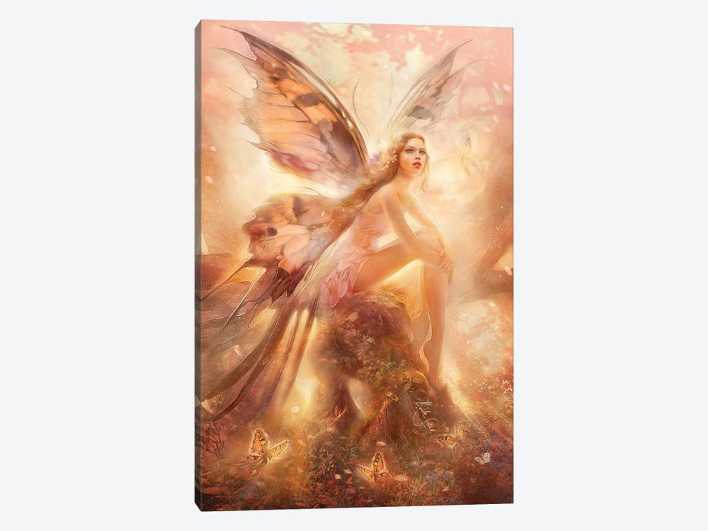 Awakening by Bente Schlick 1-piece Canvas Art