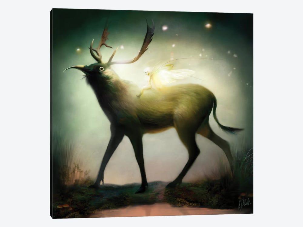 Whimsical by Bente Schlick 1-piece Canvas Art