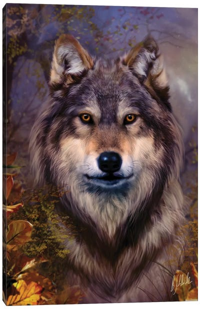 Wolf Variant I Canvas Art Print