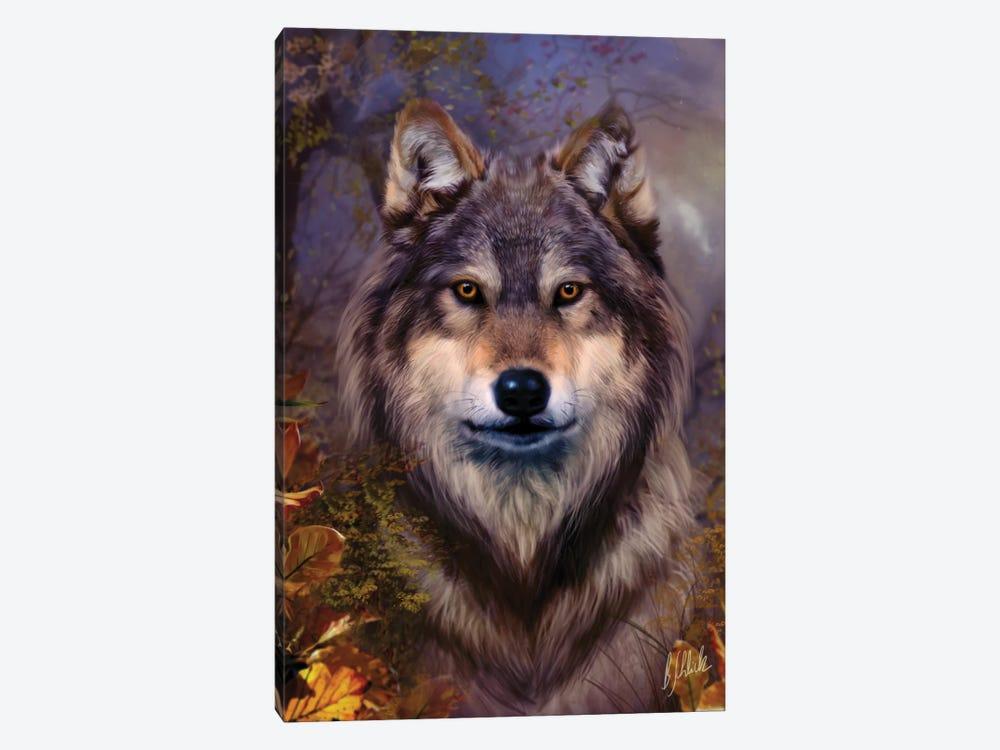 Wolf Variant I by Bente Schlick 1-piece Canvas Art Print