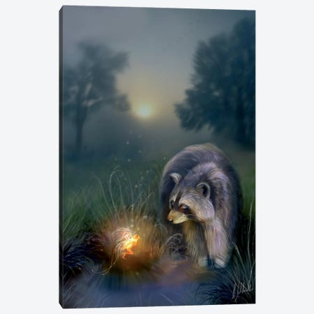 Away With The Fay Canvas Print #BNT56} by Bente Schlick Canvas Wall Art