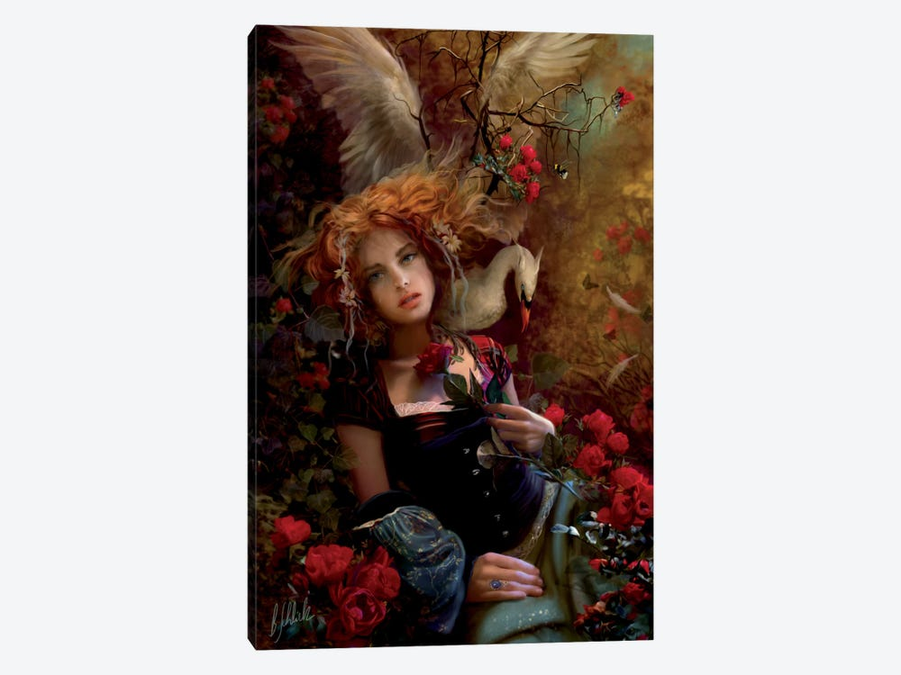 Be Still My Troubled Heart by Bente Schlick 1-piece Canvas Print