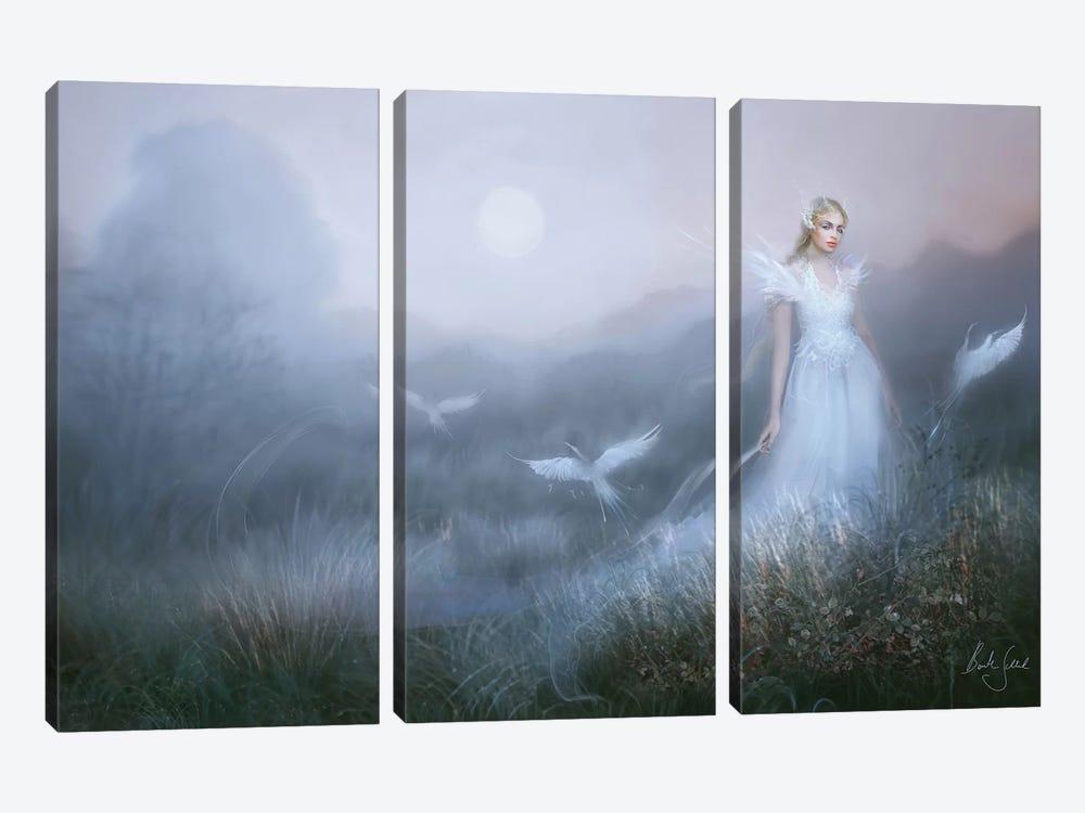 Dags Brun by Bente Schlick 3-piece Canvas Wall Art