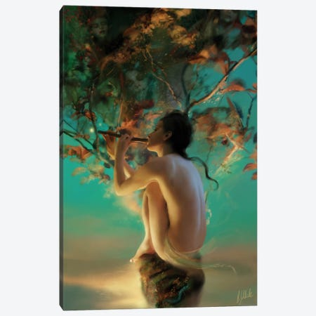 Eidolon Canvas Print #BNT63} by Bente Schlick Canvas Art