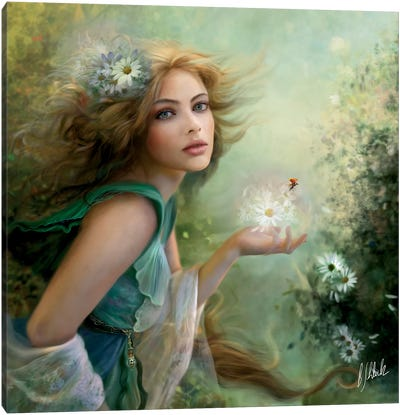Herald Of Spring Canvas Art Print