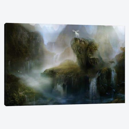 His Realm Canvas Print #BNT68} by Bente Schlick Canvas Artwork