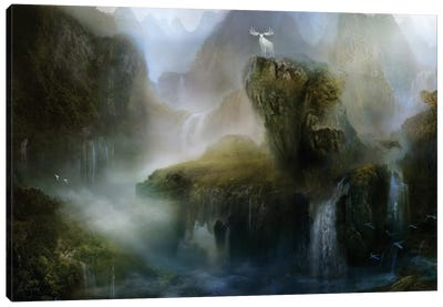 His Realm Canvas Art Print