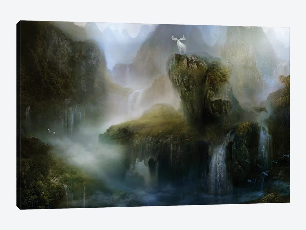 His Realm by Bente Schlick 1-piece Canvas Print