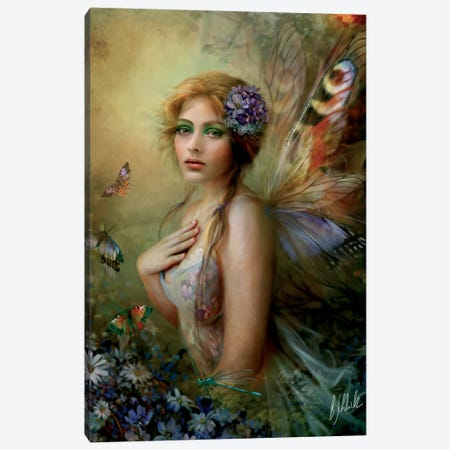 Blissful Moment Canvas Print #BNT6} by Bente Schlick Canvas Art