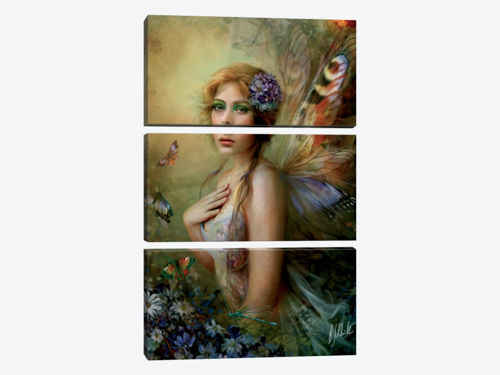 Blissful Moment by Bente Schlick 3-piece Canvas Art
