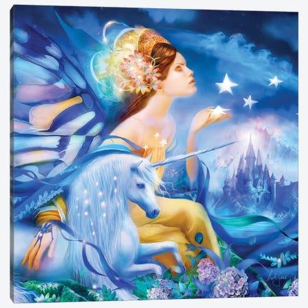 Magical Night 3-Piece Canvas #BNT71} by Bente Schlick Art Print